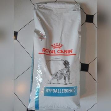 ROYAL CANIN HYPOALLERGENIC 14KG DR21 karma dla psa
