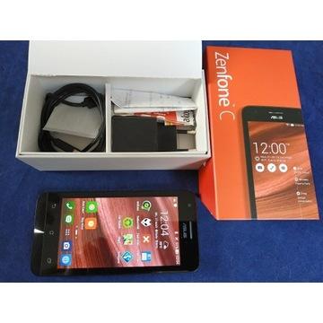ASUS Zenfone C, Intel, Dual SIM, Czerwony