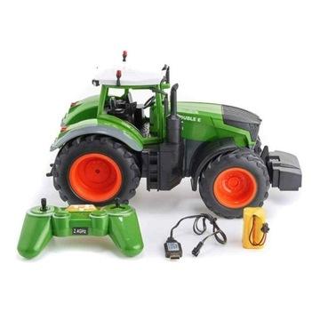 Traktor na pilot Zdalnie Sterowany RC Dźwięk