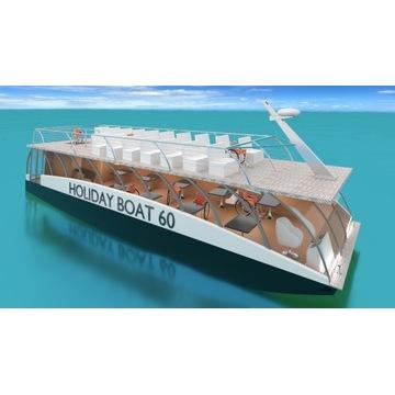 Statek Katamaran Pasażerski 120 Holiday Boat Party