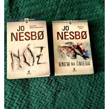 Jo Nesbo krew na śniegu + nóż
