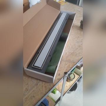 Odpływ liniowy 800 (nie używany, tylko otwarte pud