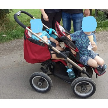 Wózek podwójny spacerowy