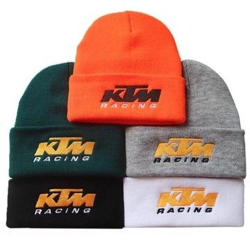 Czapka KTM racing cross zimowa wiosenna