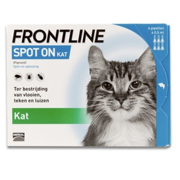 FRONTLIN Spot-On kleszcze Kot do 1kg 3x0,5 ml -30%
