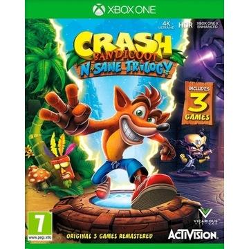 CRASH BANDICOOT N SANE TRILOGY XBOX ONE + GRATIS!