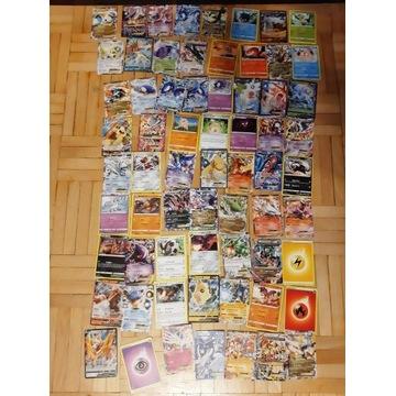 Karty Pokemon - 66 sztuk