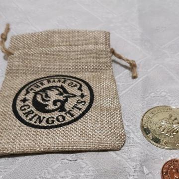Harry Potter Sakiewka z monetami z Banku Gringotta