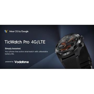 SMARTWATCH TICWATCH PRO 4G/LTE  wersja UE