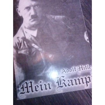książka Mein Kamp, Adol Hitler