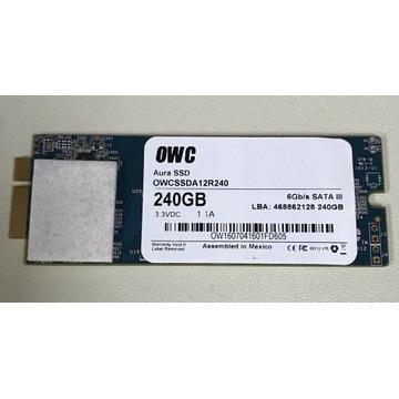 Dysk SSD OWC Aura 240GB MacBook Pro 2012