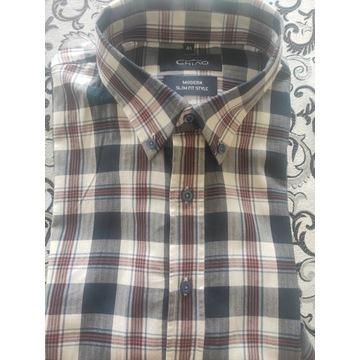 Koszule męskie- 100% bawełny, wysoka jakość.