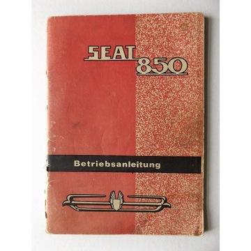 Instrukcja obsługi SEAT 850 w jez. niemieckim