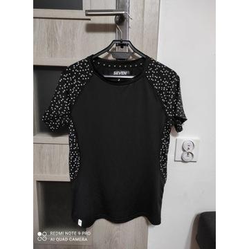 Damska koszulka sportowa czarna rozmiar S nowa