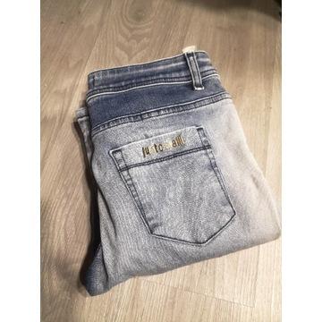 Spodnie jeansy slim fit Just Cavalli ombre
