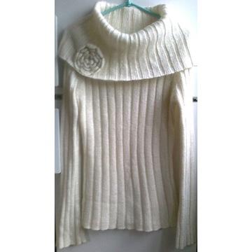 golf sweter długi Camaiu L 42 44 okazja! +DIETA
