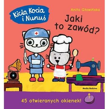 Kicia Kocia i Nunuś. Jaki to zawód?