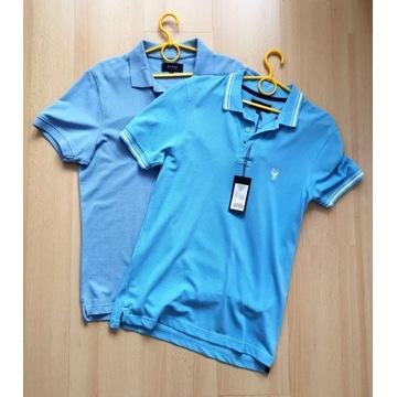 koszulka polo Bytom t-shirt sportowa niebieska M