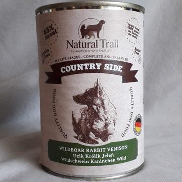 Natural Trail Country Side 6x 400g pies Dzik Króli