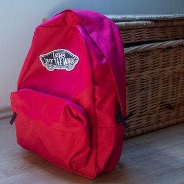 Plecak VANS Realm Backpack bordowy