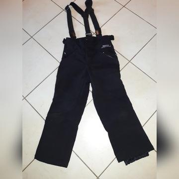 spodnie narciarskie softshell 146/152  jak NOWE