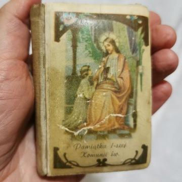 Modlitewnik 1947 Pamiątka I Komunii Świętej