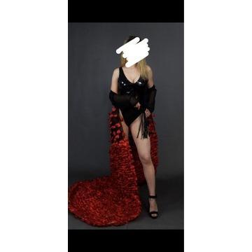 Kostium domina bdsm femdom bielizna