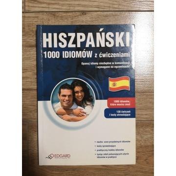Hiszpański 1000 Idiomów z Ćwiczeniami wyd. Edgard