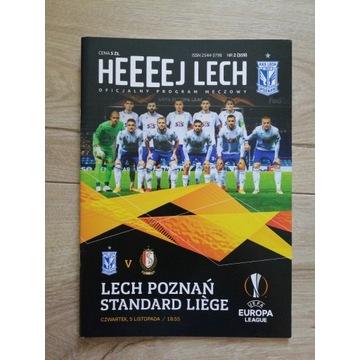Program Lech Poznań -  Standard Liege 2020
