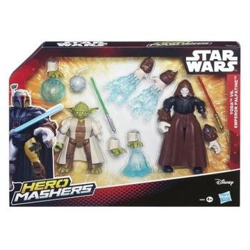 Hero Mashers Star Wars Yoda i Imperator Palpatine