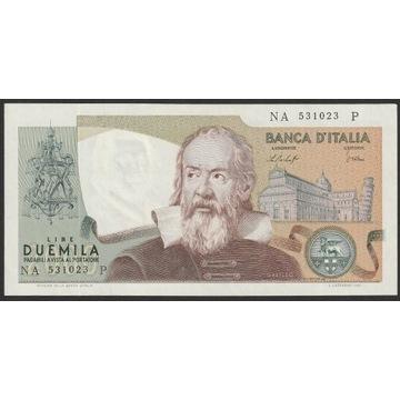 Włochy 2000 lirów 1976 - NA - stan bankowy - UNC -