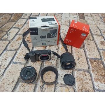 Sony Alpha 5100 + 50 1.8 + 16-50 - komplet