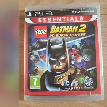 Gra Playstation 3 Batman 2 DC super heroes