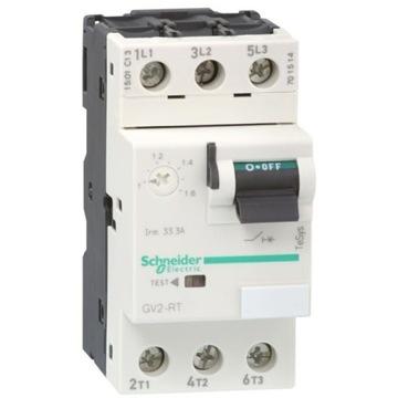GV2RT06 Wyłącznik silnikowy 3P 0,55KW 1-1,6A