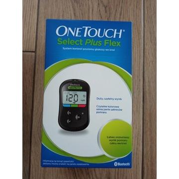 Glukometr OneTouch Select Plus Flex Zestaw.