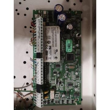 Dsc 1616 z modułem i LCD centrala alarmowa