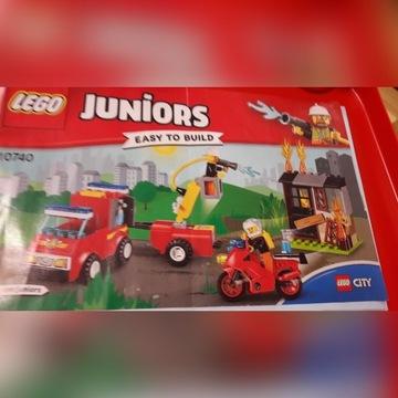 Lego juniors 10740 straż pożarna