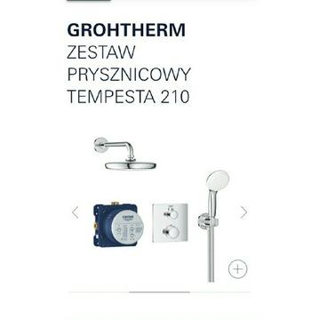 Zestaw prysznicowy grohe 34729000