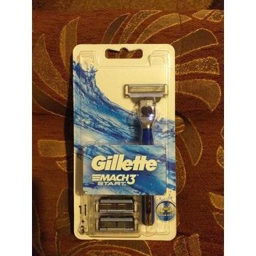 Gillette mach 3 start maszynka + 3 ostrza