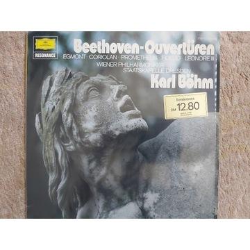 BEETHOVEN - UWERTURY ( LP)