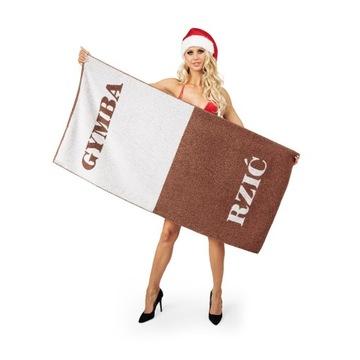 Ręcznik Gymba-Rzić 70x140cm prezent święta