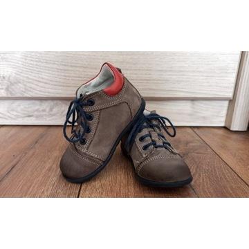 Dziecięce buciki dla prawidłowej stópki -na jesień