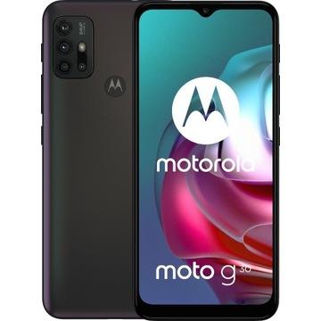 Smartfon MOTOROLA G30 4/128GB Czarny