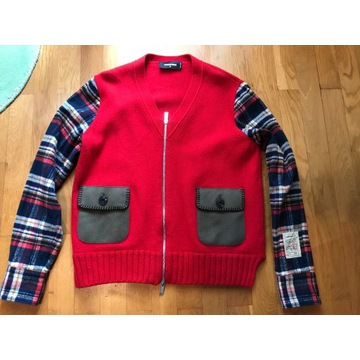 ORYGINALNY SWETER DSQUARED