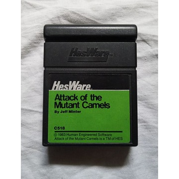kartridż Attack of the mutant camels -Commodore 64