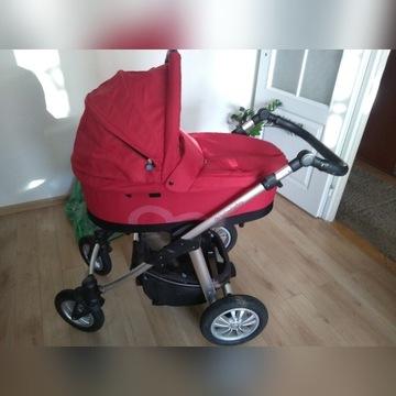 Baby Design Lupo 3w1 w bdb stanie + fotelik Dumbo