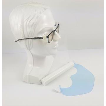 Maseczka przyłbica przylbica na okulary HIT