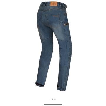 Spodnie motocyklowe jeansy Rebelhorn Urban III  L