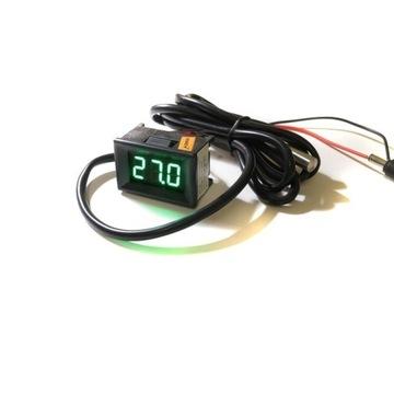 mini cyfrowy TERMOMETR samochodowy LED 12V 24V