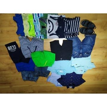 Zestaw ubrań letnich 104-110